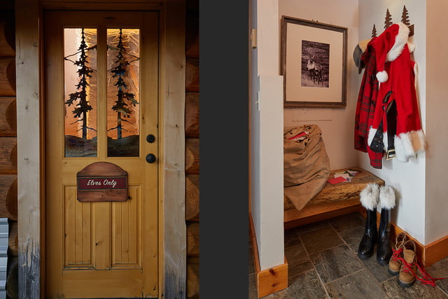 zillow lists and shows off home of santa 2 santas house entry 024