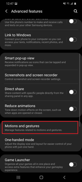 how to take a screenshot on samsung galaxy android 20200507 124729 settings