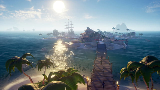 Sea Of Thieves | Island with people