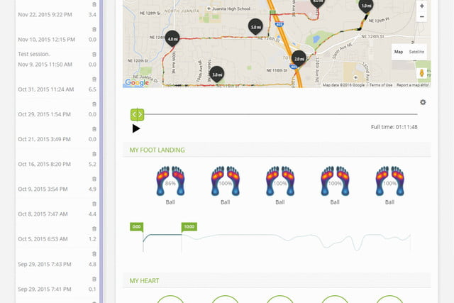 sensoria overhauls its app and unveils a fitness chip dashboard 3b