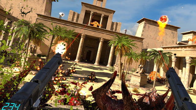 Serious Sam VR' Brings Frantic FPS Action to Vive, Oculus