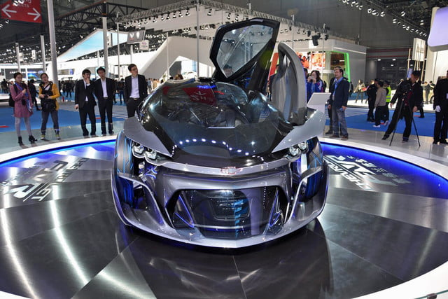 chevrolet fnr concept news pictures and specs shanghai 1