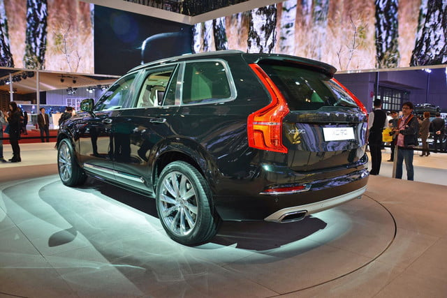 volvo lounge console concept pictures shanghai xc90 excellence 2