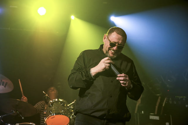 the audiophile black grape shaun ryder of perform at electric ballroom