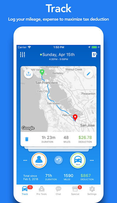 Best Mileage Apps for Small Businesses | Digital Trends