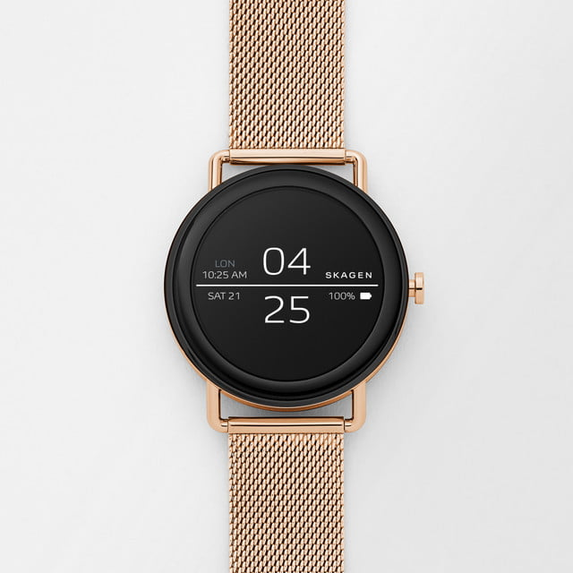 skagen falster news rose gold