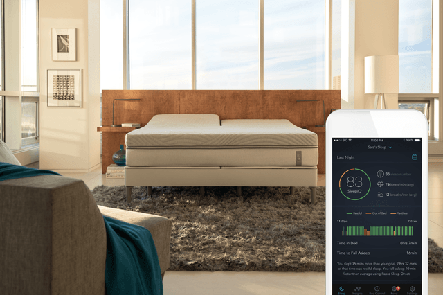 sleep number 360 smart bed ces 2017 1