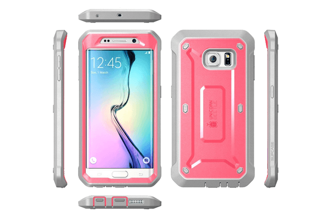 best galaxy s6 edge cases supcase unicorn beetle pro for gal