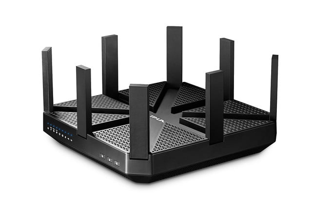 tp links talon router boasts eight antennas and is the first with 802 11ad wi fi 02