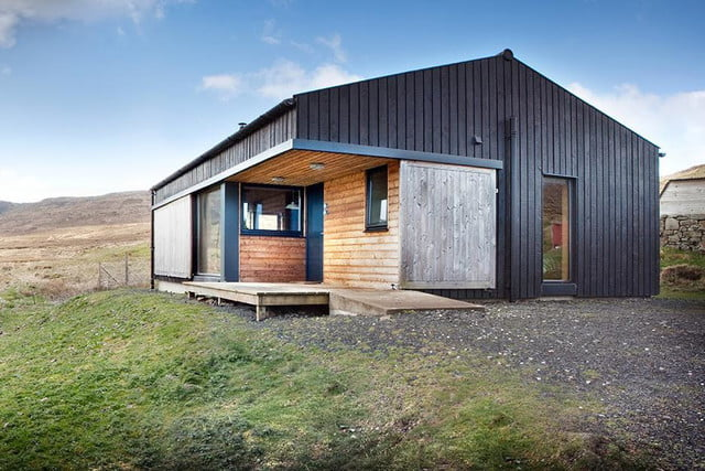 retreat from society and relax in these idyllic cabins around the world black shed 4