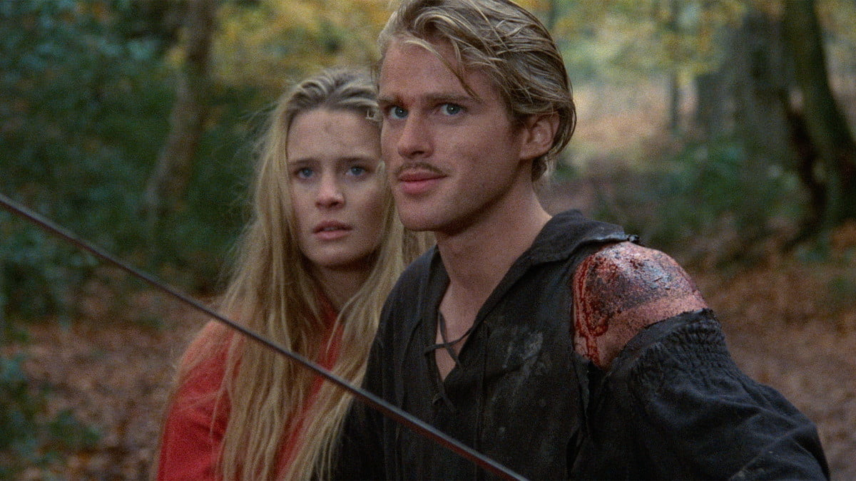 Robin Wright and Cary Elwes in The Princess Bride