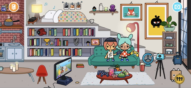 Toca Life World home location