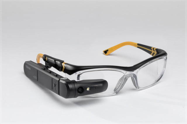 toshiba announces dynaedge augmented reality ar smart glasses safety