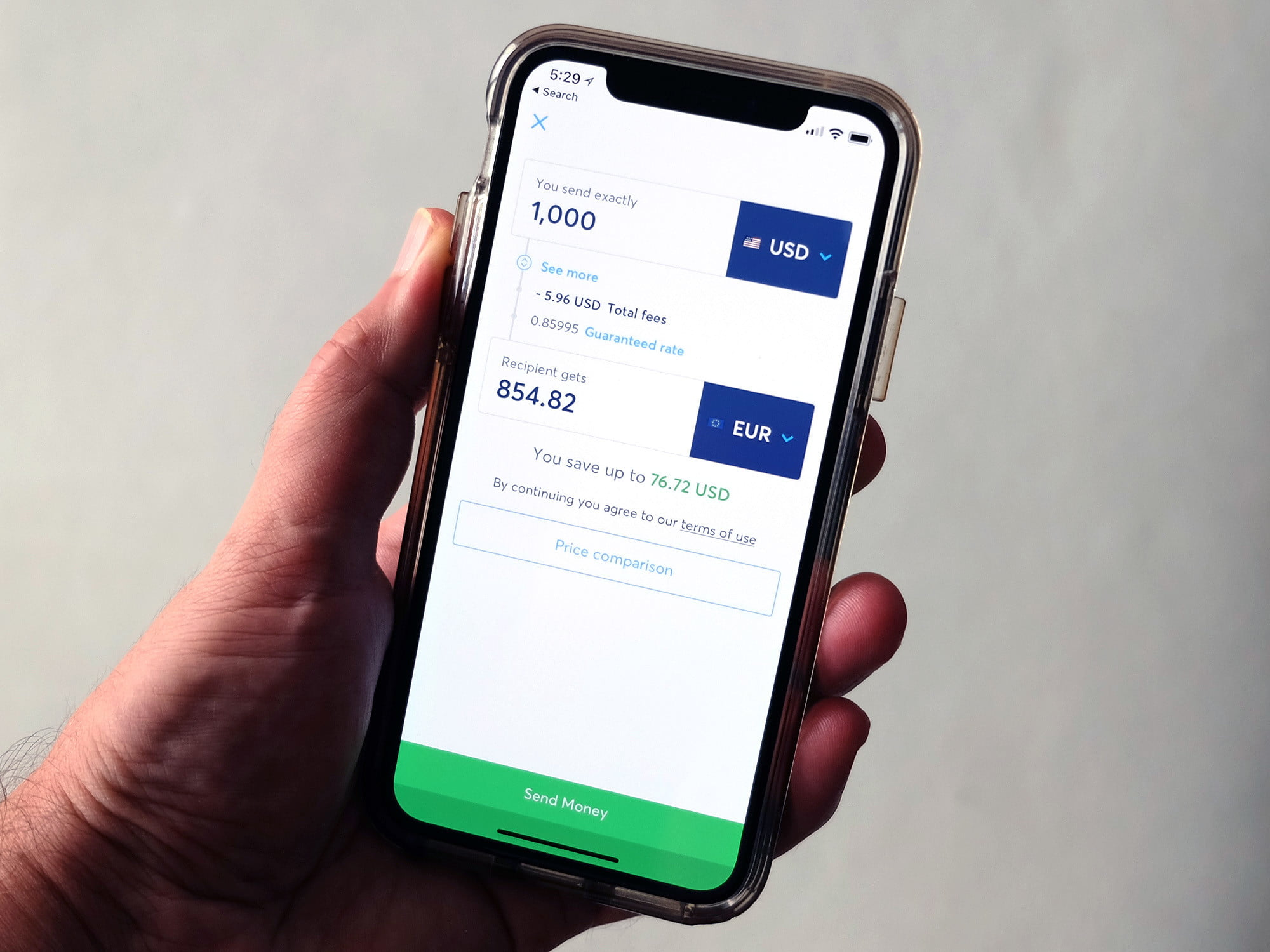 Transferwise Lets You Convert Currency Without Drowning in