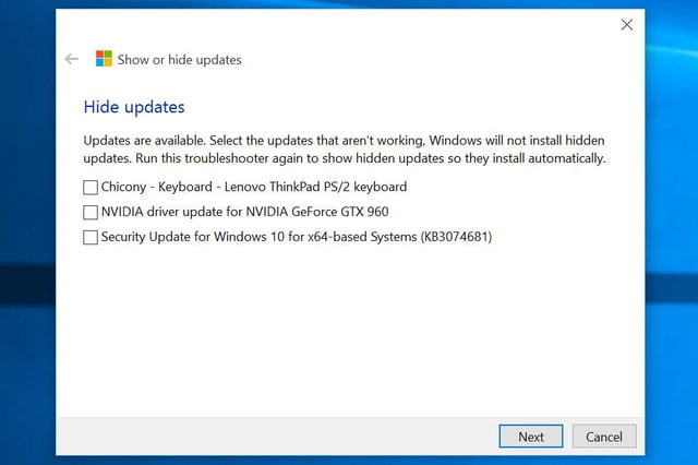 microsoft quietly releases utility to let insiders filter out automatic updates updatefilter hidelist