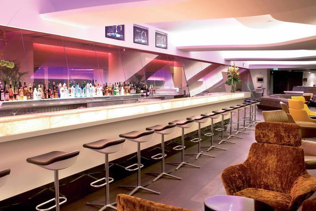 the worlds best airport lounges virgin atlantic clubhouse  lhr