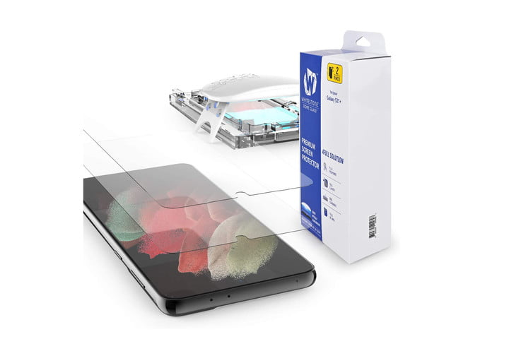 Whitestone Dome Tempered Glass Screen Protector for Samsung Galaxy S21 Plus