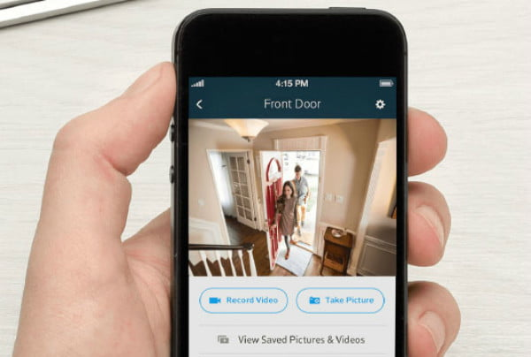 Xfinity Home Security Camera Captures Faces and License
