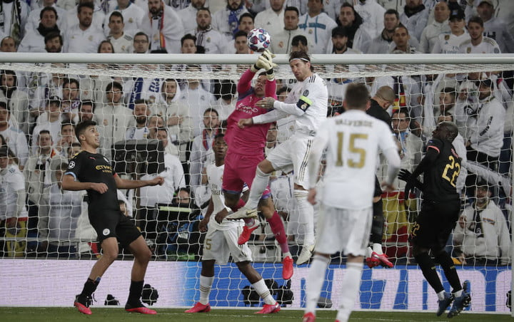real madrid v manchester city uefa champions league