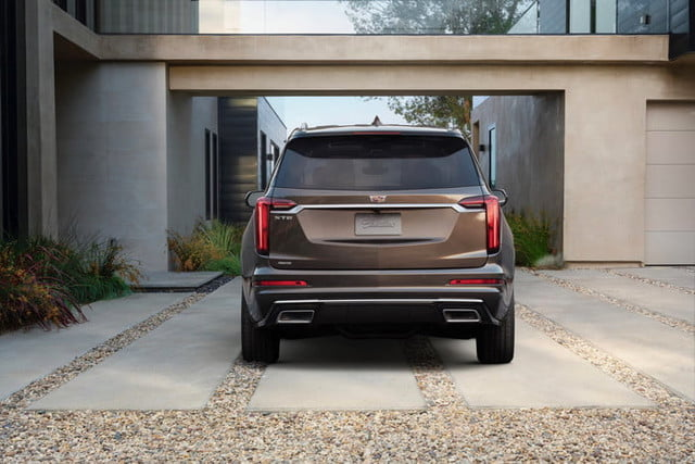 cadillac xt6 2020 salon detroit 2019 the premium luxury model features unique front and rear fascias with red taillight lense