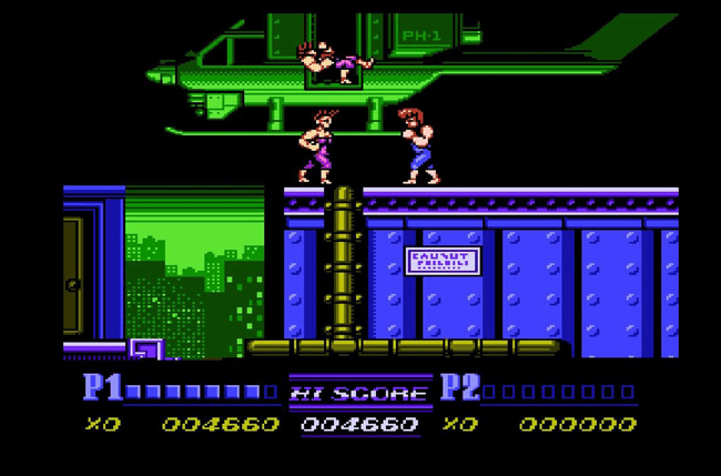 best nes games ever double dragon screens 3