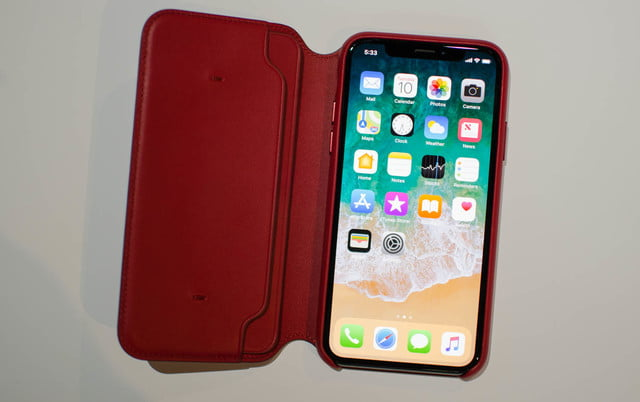 Apple Debuts Red Iphone 8 And 8 Plus Red Leather Case For Iphone