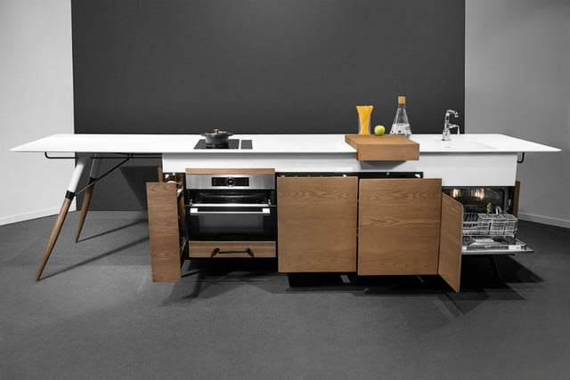 Kitch T Is A Space Saving, Movable, All In One Designer Kitchen Island For  Millennials