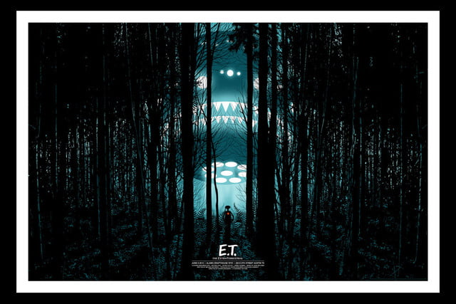 best stranger things style movie posters e t  the extra terrestrial by dan mccarthy