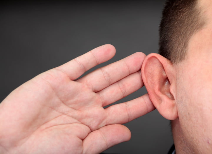 overexposure airborne ultrasound may making others sick ear