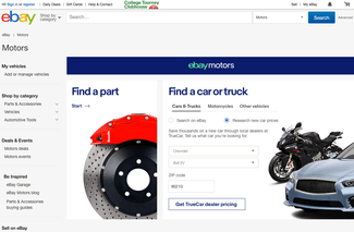 New Ebay Motors Home Page And Buyer Services Beef Up The Portal S Offerings Digital Trends