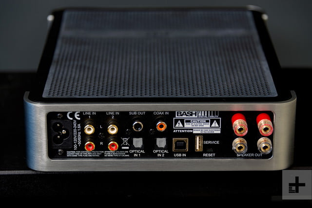 Elac Integrated Amplifier review rear jacks