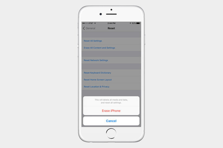 reset iphone 5s to factory settings how to factory reset an iphone every generation 8195