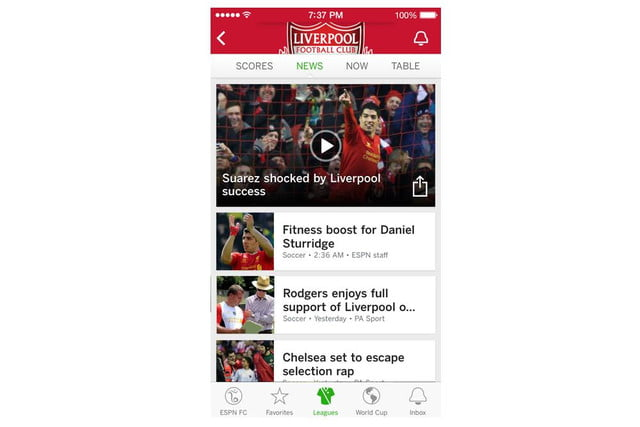 espn will live stream all 64 matches of the 2014 world cup app 5