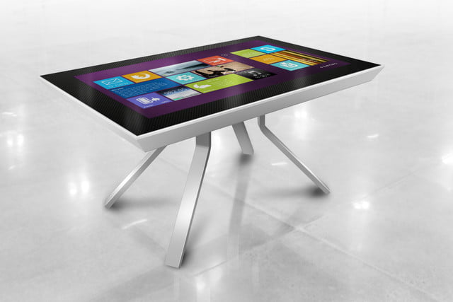 cima wants to put 40 inch touchscreens in coffee tables faya interactive tabletop 1