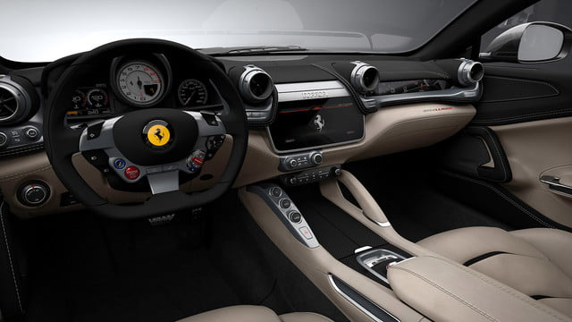 2017 ferrari gtc4lusso news performance specs pictures interior driver s side
