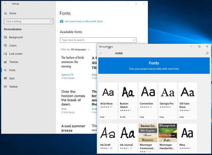 How to Install Fonts in Windows 10 | Digital Trends