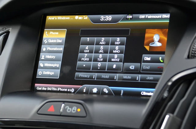 ford focus electric hands free phone1