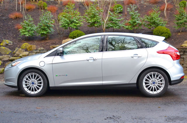 ford focus electric profile