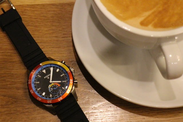 fossil q crewmaster coffee