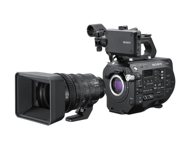sony fs7 ii announcement lens