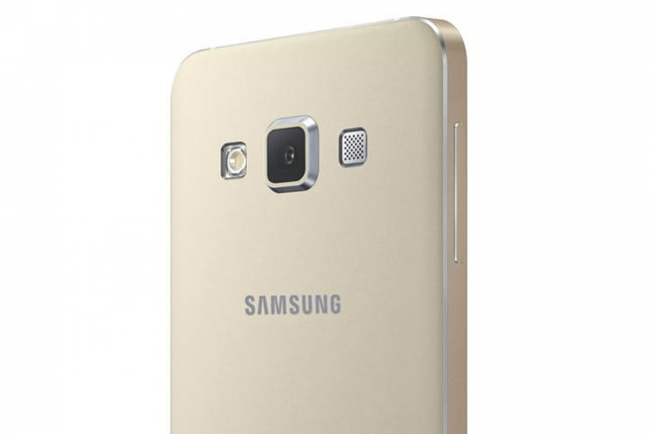 samsung galaxy alpha a5 and a3 news rear camera gold
