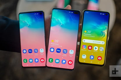 Samsung's S10e Joins Galaxy S10, S10 Plus 2019 Smartphone