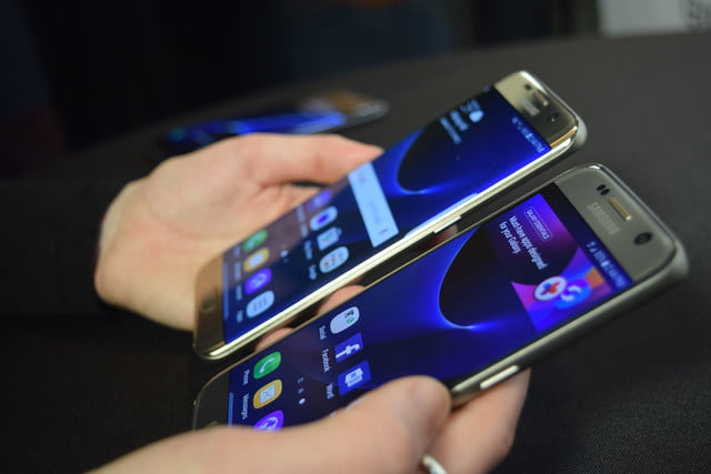 samsung galaxy s7 news and edge together front sides