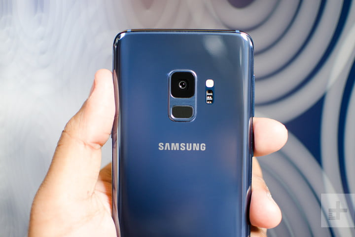 galaxy s9 hands-on review back top