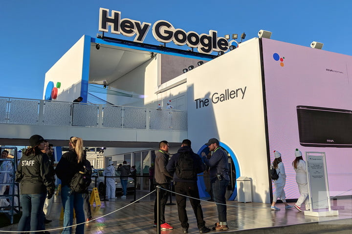 Google Booth CES 2018