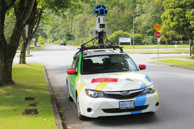 google maps ios android adds uber lane guidance more  street view
