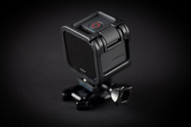 GoPro Hero 4 session hands on angle camera