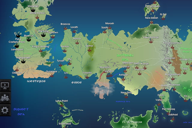 Game of thrones interactive map available for ios android game of thrones map mobile app ios android gotmap02 gumiabroncs Gallery