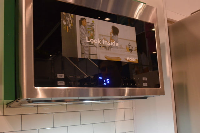 appliance trends kbis 2017 haier 24 inch microwave