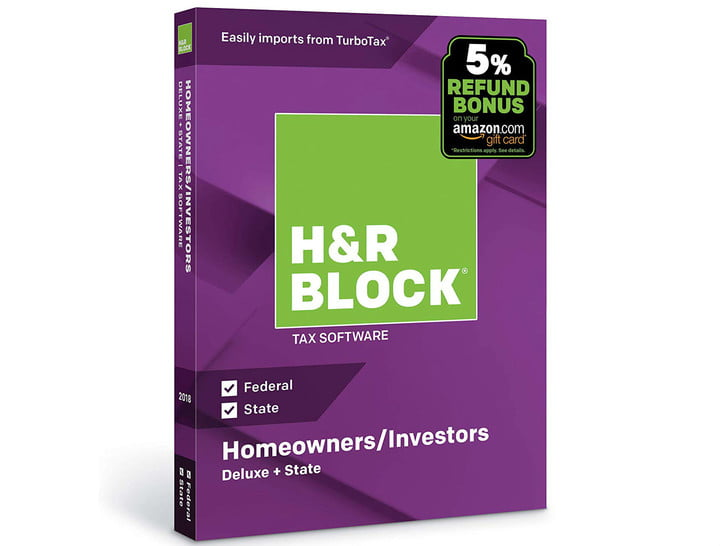 tax software 2019 deals handr block
